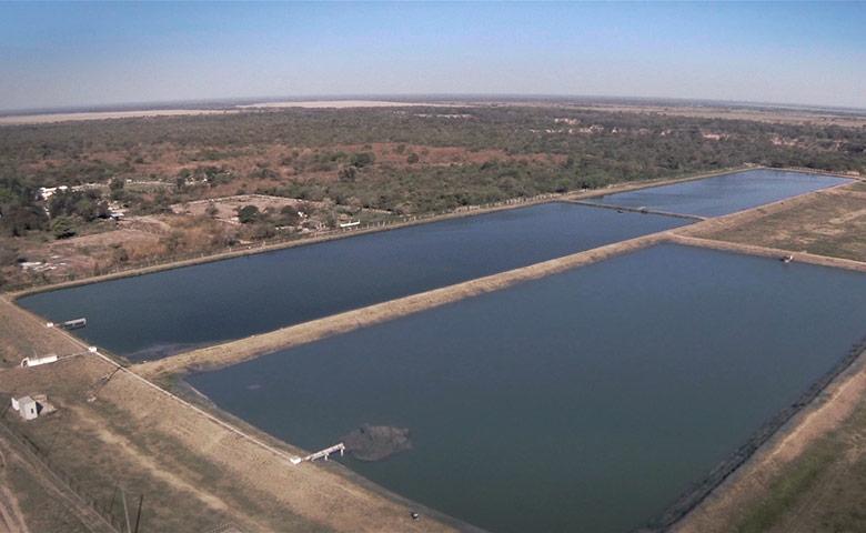 Aguas del norte la compa a de todos for Plastico para impermeabilizar lagunas